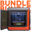 up box + plus wifi bundle with 3D printer warranty and filament along with a balance robot