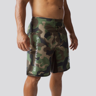 American Defender Shorts 2.0 (Woodland)