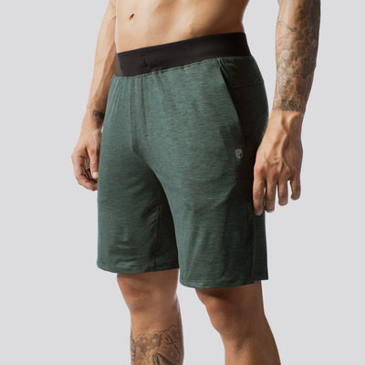 Male Lounge Shorts (Evergreen)