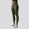 Rise & Grind Capris (Tactical Green)