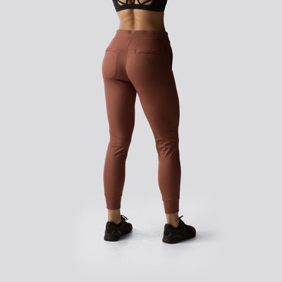 The Female Recovery Joggers (Rust)