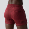 Female Lounge Shorts (Maroon)