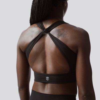 The Abyss Sports Bra (Black)