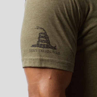 The Patriot Brand Tee (OD Green)