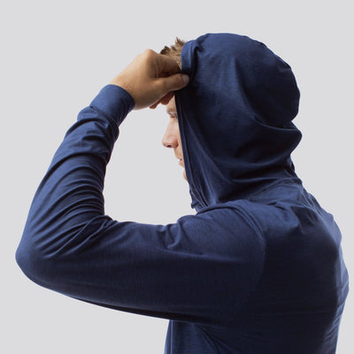 The Athleisure Hoodie (Navy Blue)