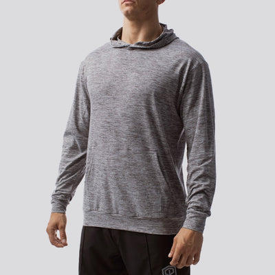 The Athleisure Hoodie (Heather Grey)