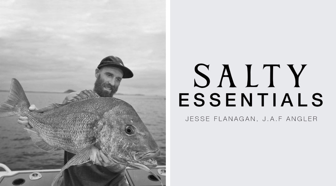 FIVE SALTY ESSENTIALS WITH: JESSE FLANAGAN - J.A.F ANGLER