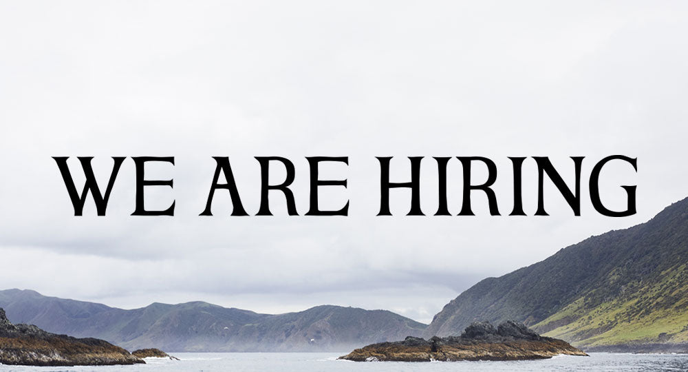 WE ARE HIRING ~ Garment production controller & Dispatch & Retail Coordinator
