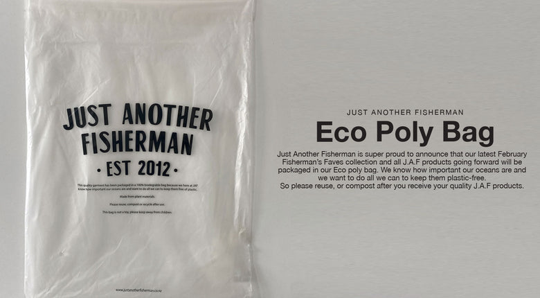 J.A.F Eco Poly Bag.