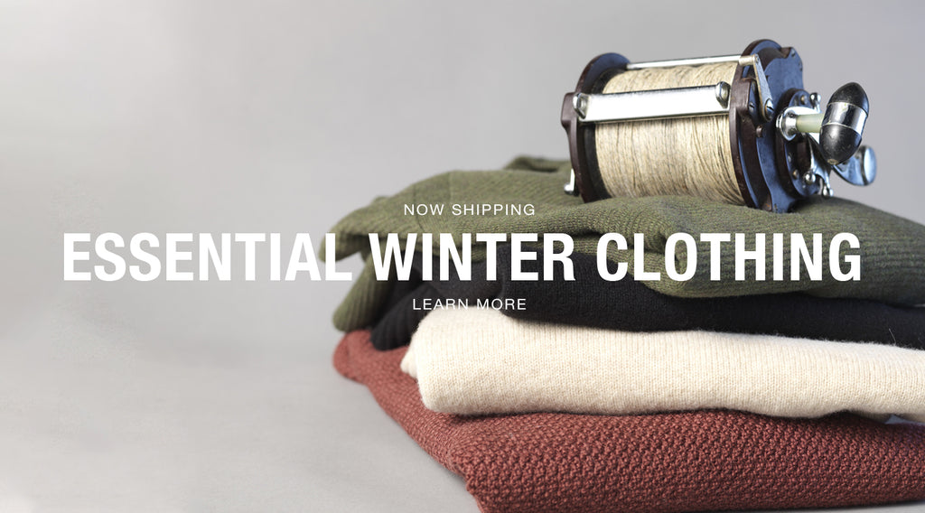 NOW SHIPPING ESSENTIAL WINTER CLOTHING.