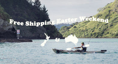 FREE SHIPPING EASTER WEEKEND - NZ & AUS