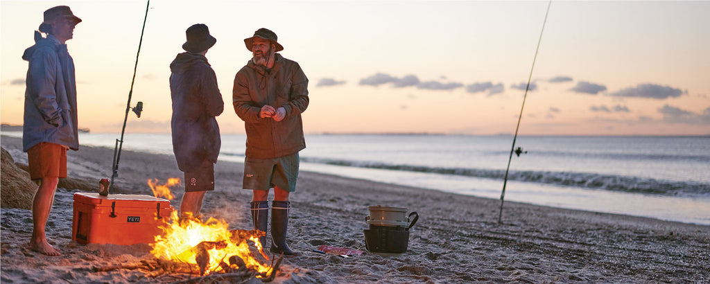 Yeti coolers, premium hard coolers, soft coolers & drinkwear Stocked at Just Another Fisherman, Auckland, NZ