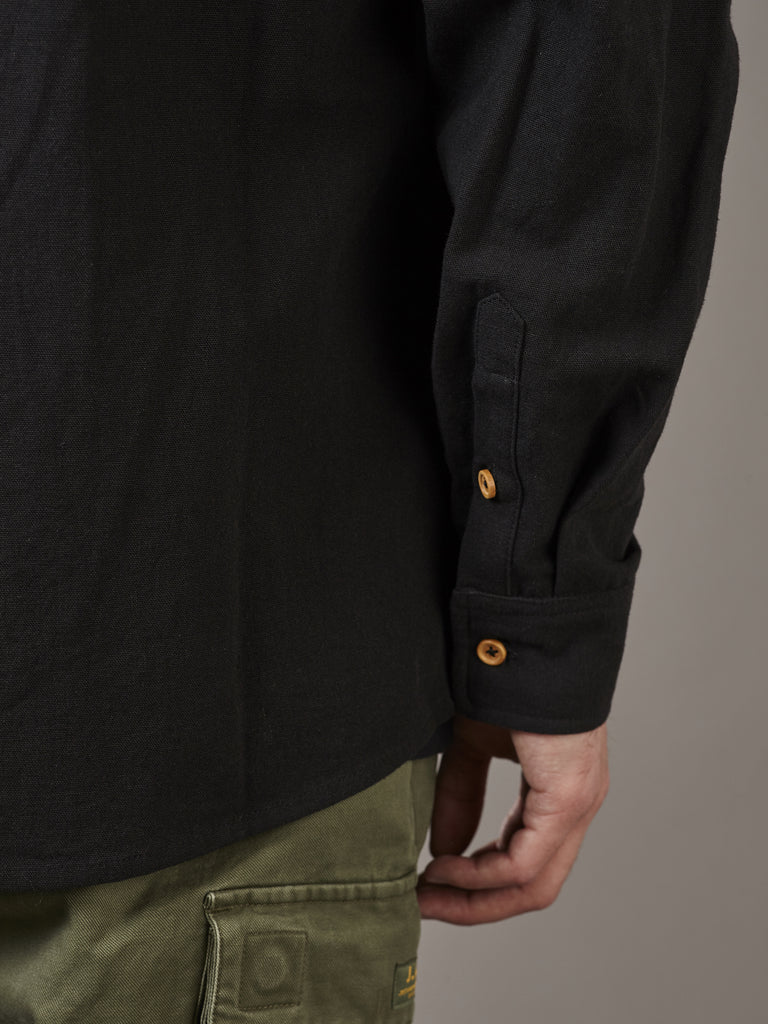 ANCHORAGE SHIRT - BLACK