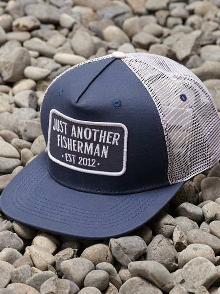 ENGINEER TRUCKER - NAVY/WHITE