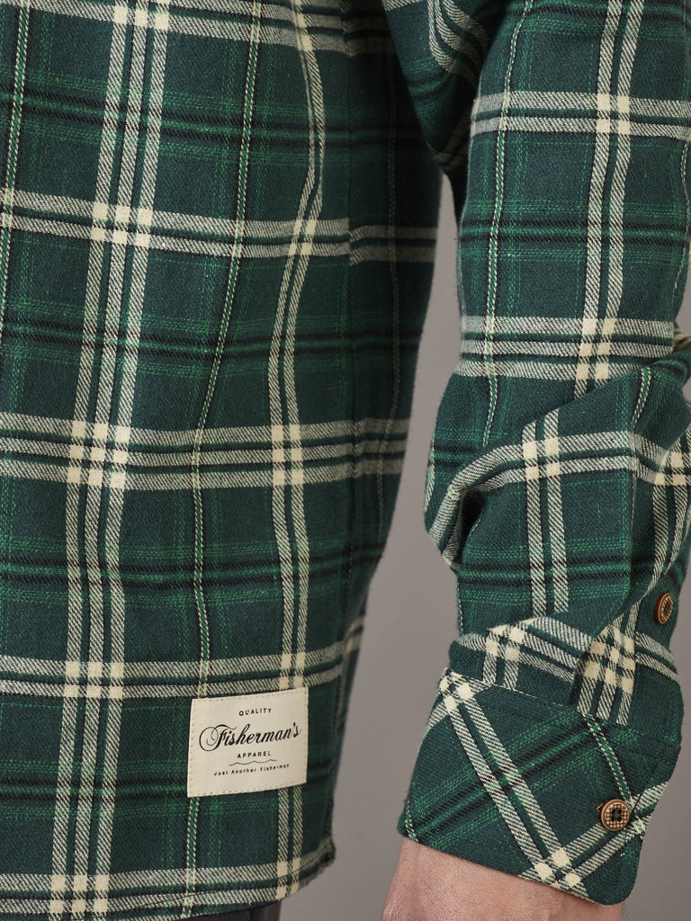 FLANAGAN FLANNEL - GREEN CHECK