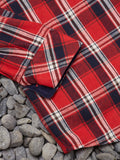 FLANAGAN FLANNEL - RED CHECK
