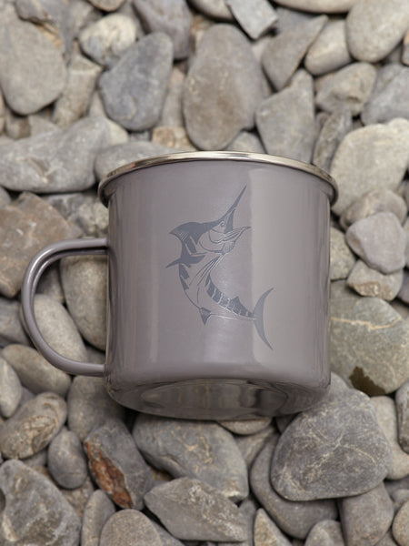 J.A.F MARLIN MUG - GREY