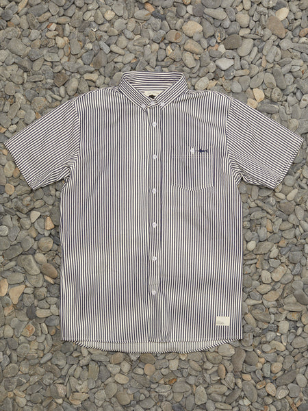 MAST SHIRT - NAVY/NATURAL