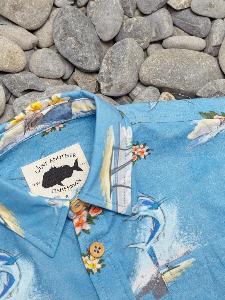 MINI MARLIN SHIRT - BLUE