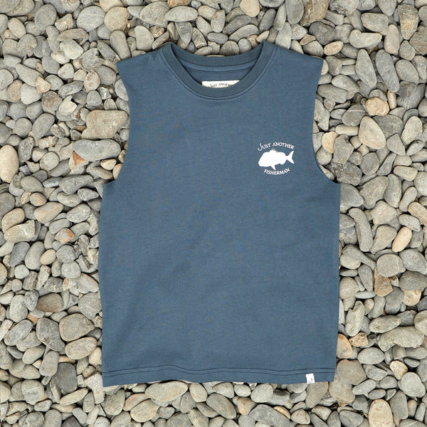 MINI SNAPPER LOGO TANK - NAVY