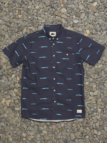 PIPER SS SHIRT - NAVY