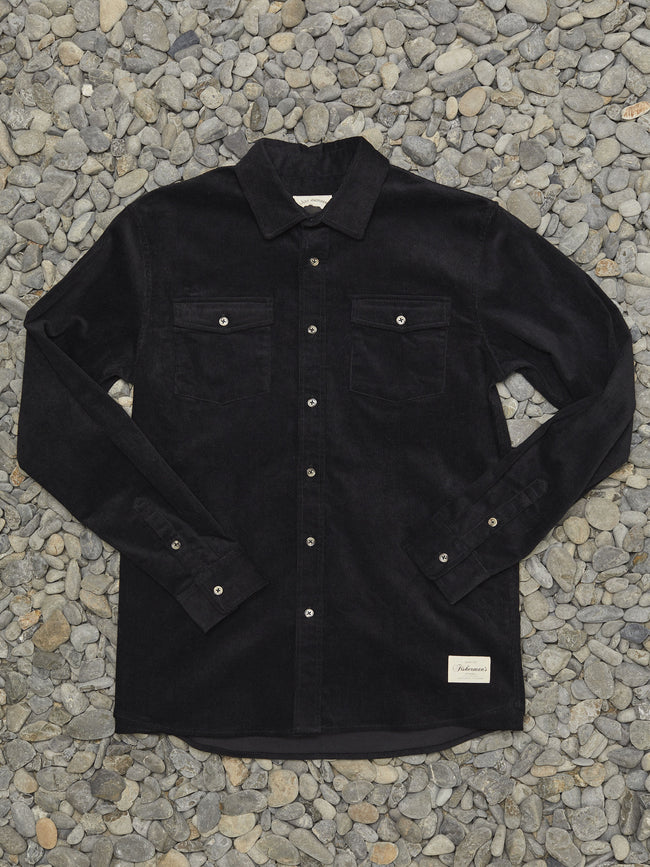 RIPPLE SHIRT - BLACK