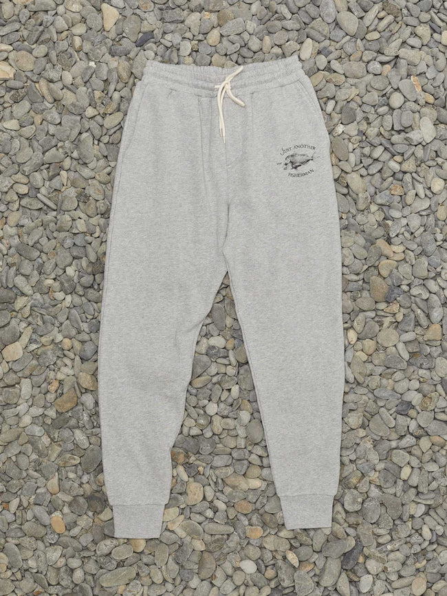 SNAPPER LOGO TRACKIES - GREY MARLE