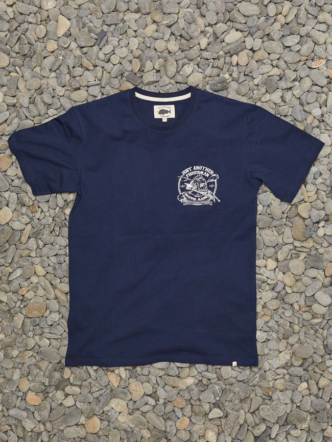 SNAPPER MADNESS TEE - NAVY