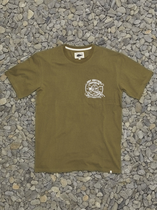 SNAPPER MADNESS TEE - OLIVE