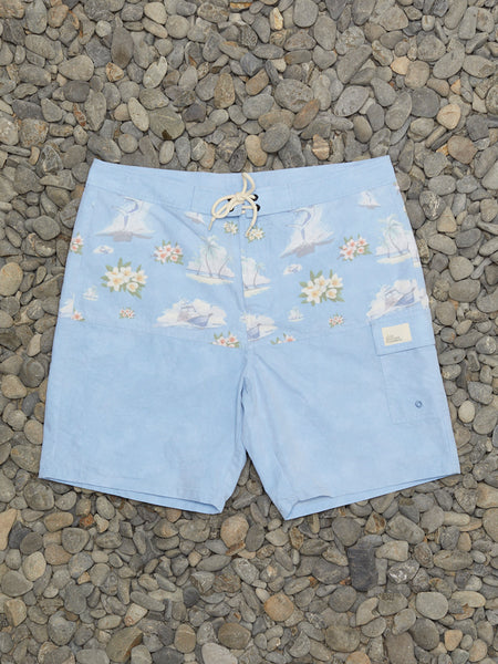 VINTAGE MARLIN BOARDSHORTS - BLUE