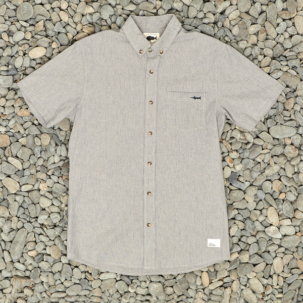 WATER COLUMN SS SHIRT - STRIPE