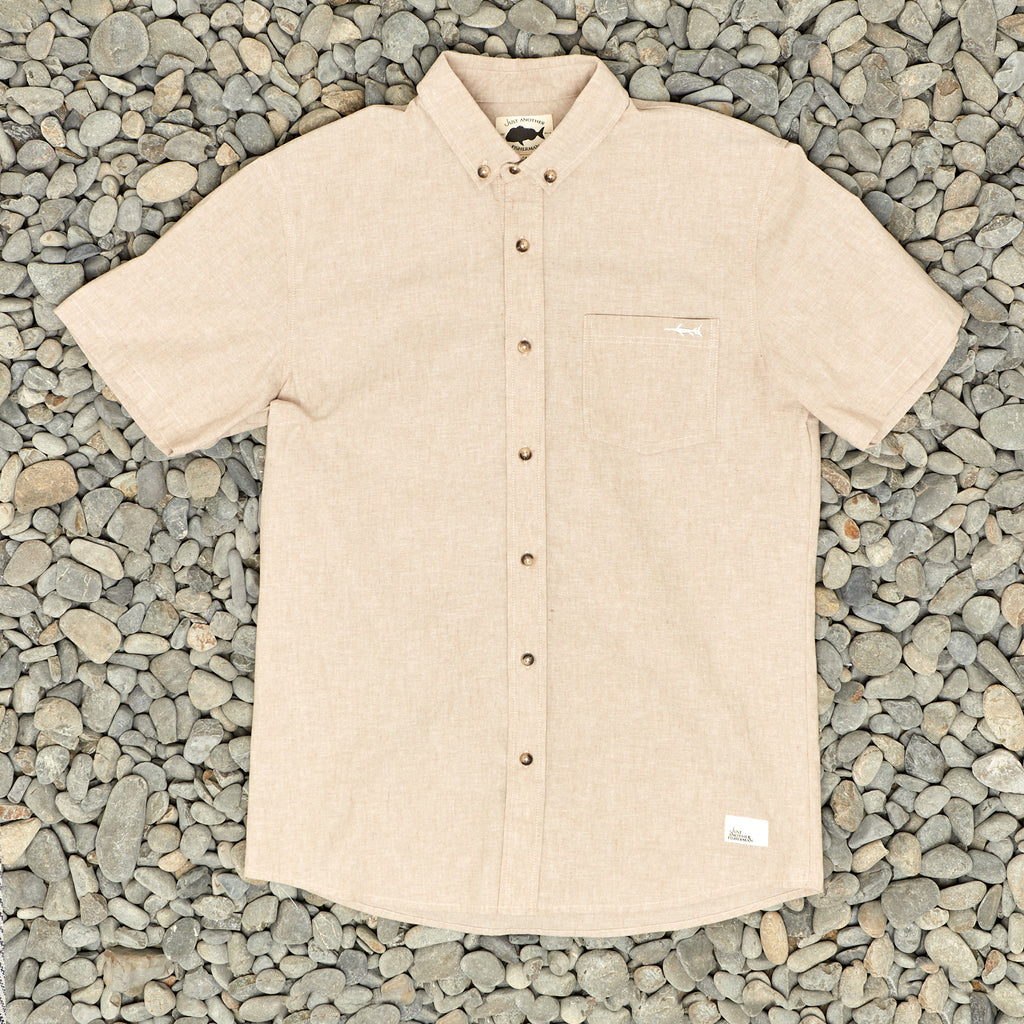 WATER COLUMN SS SHIRT - TAN
