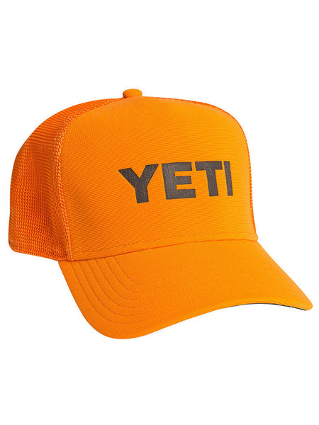 DEEP-FIT TRUCKER HAT - BLAZE ORANGE