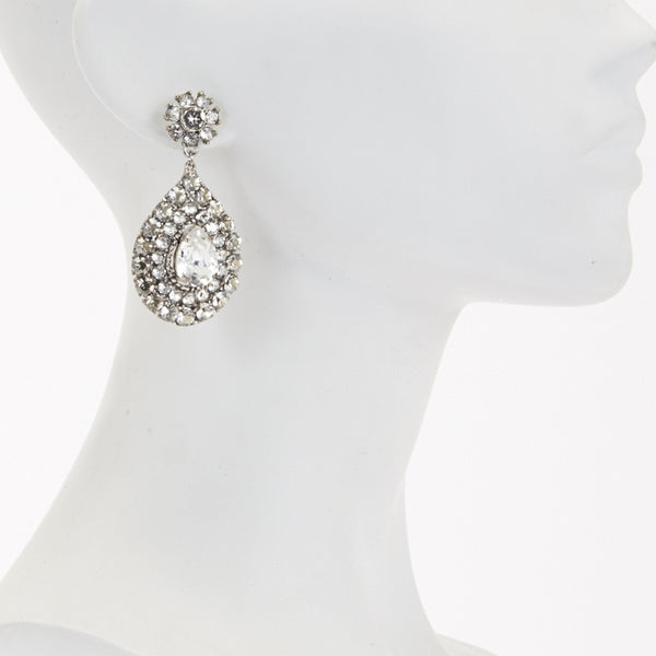 Maya Clear Earrings