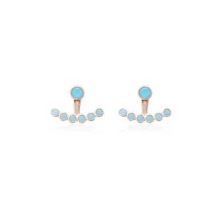 Aegean Turquoise Ear Jacket, Carly Paiker, JEWELERY, SHOP28 - SHOP28