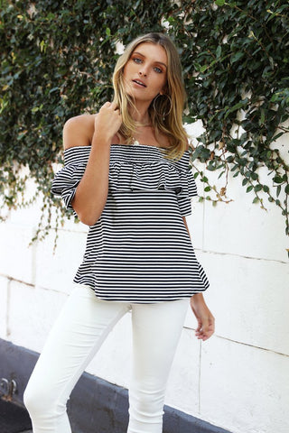 Hamilton Stripe Top