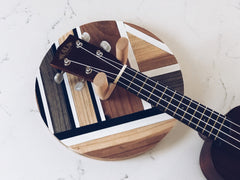custom ukulele mount