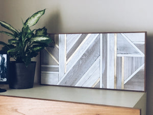 Reclaimed Wood Wall Art  |  The Marion