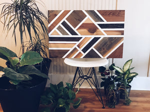 Reclaimed Wood Wall Art  || The Eyre