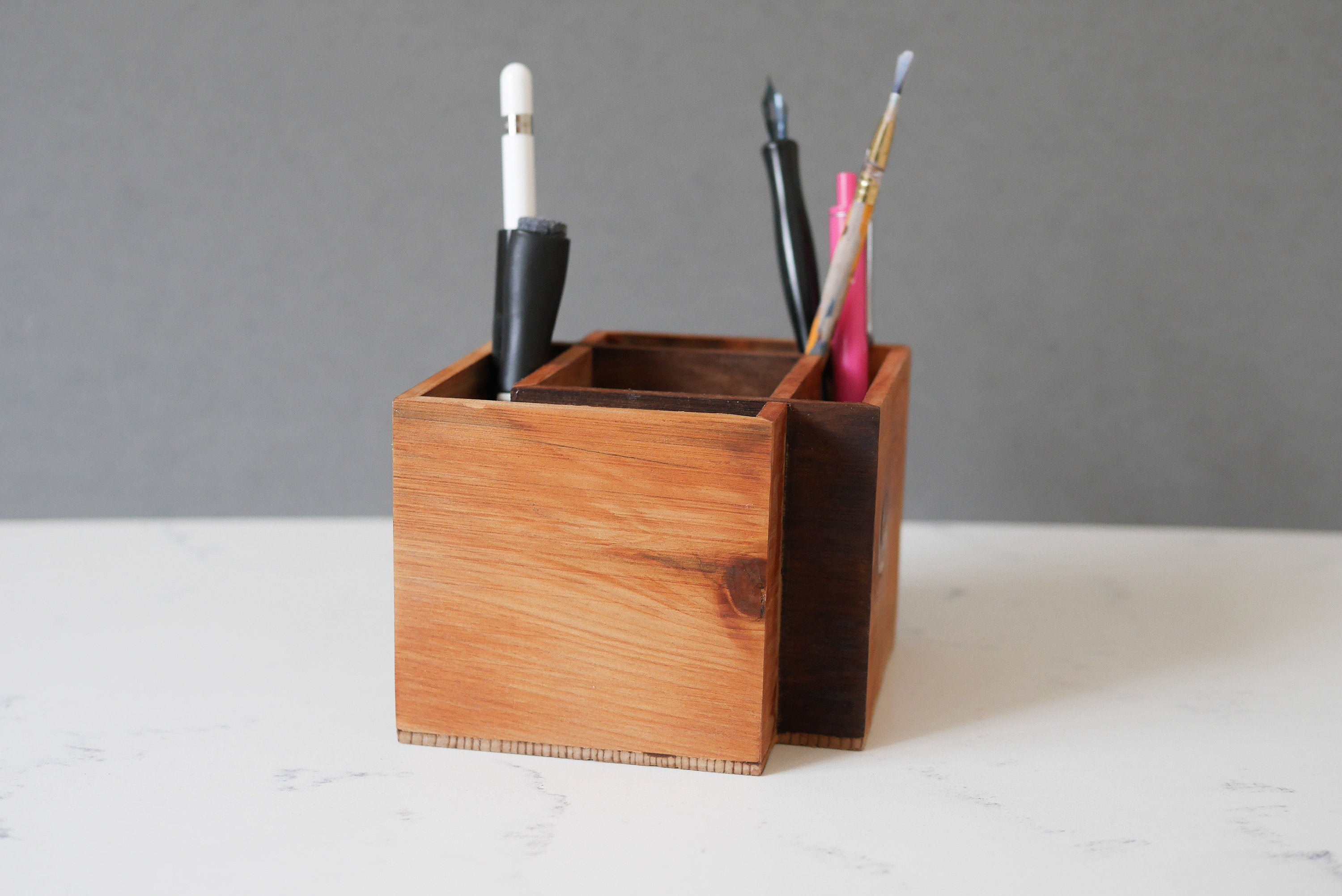 Pen Holder For Desk - Pencil Holder & Planter