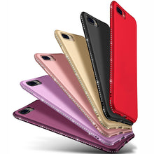 Load image into Gallery viewer, Bling Diamond Shiny Bumper Soft Silicon Case Apple iPhone X, XS, XR, or XS Max - BingBongBoom