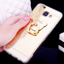 Load image into Gallery viewer, Bear Ring Loop Stand Soft Rubber Case Cover Samsung Galaxy S9 or S9 Plus - BingBongBoom