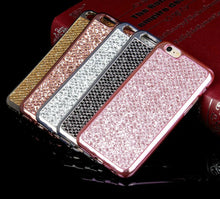 Load image into Gallery viewer, Glitter Bling Diamond Soft Rubber Case Cover Apple iPhone X / XS / XR / XS Max - BingBongBoom
