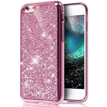 Load image into Gallery viewer, Glitter Bling Diamond Soft Rubber Case Cover Apple iPhone 8 or 8 Plus - BingBongBoom