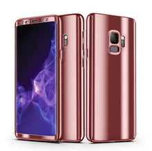 Load image into Gallery viewer, 360° Plating Phone Case Slim Mirror Full Coverage Samsung Galaxy Note 8 - BingBongBoom