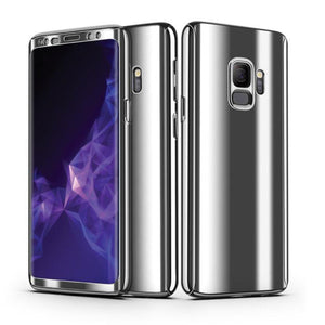 360° Plating Phone Case Slim Mirror Full Coverage Samsung Galaxy S8 or S8 Plus - BingBongBoom