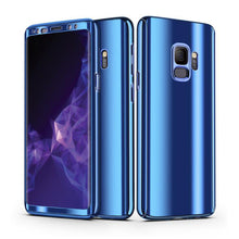 Load image into Gallery viewer, 360° Plating Phone Case Slim Mirror Full Coverage Samsung Galaxy S10 / S10 Plus / S10 Edge - BingBongBoom