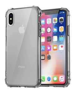 Rugged Edges Transparent Silicone Gel Case Cover Apple iPhone X / XS / XR / XS Max - BingBongBoom