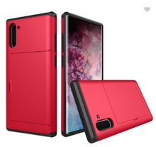 Load image into Gallery viewer, Card Slot Tough Armor Wallet Design Case Samsung Galaxy S9 or S9 Plus - BingBongBoom