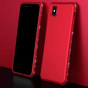 Bling Diamond Shiny Bumper Soft Silicon Case Apple iPhone X, XS, XR, or XS Max - BingBongBoom